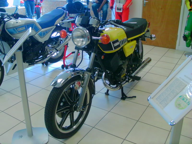 Yamaha day at the Motorcycle mart IMAG0200