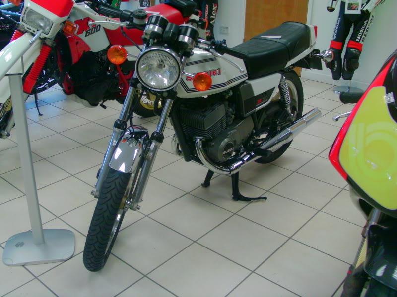 Yamaha day at the Motorcycle mart IMAG0203
