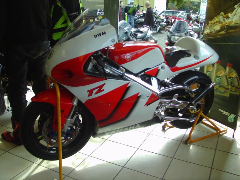Yamaha day at the Motorcycle mart IMAG0206