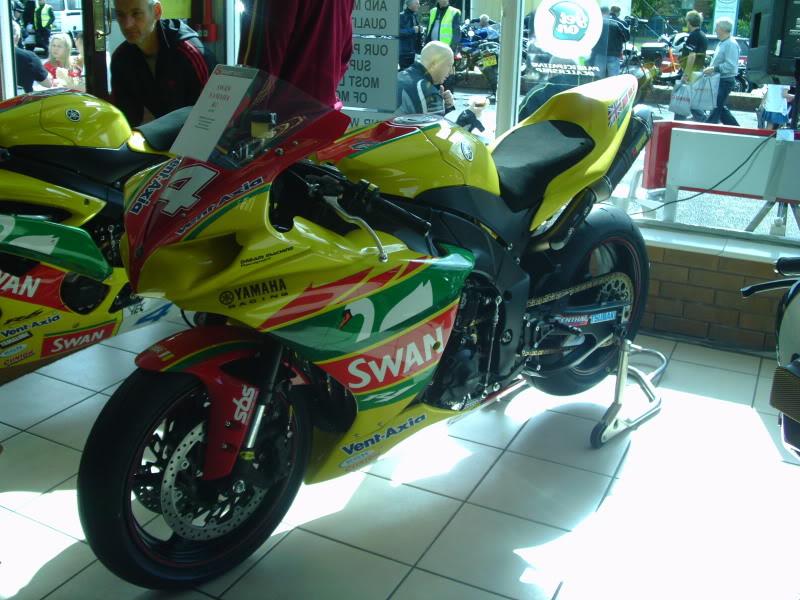 Yamaha day at the Motorcycle mart IMAG0207