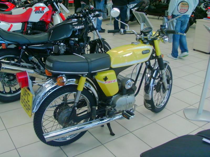 Yamaha day at the Motorcycle mart IMAG0209