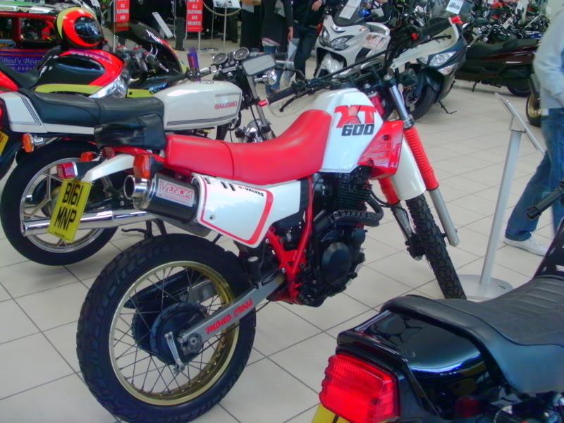 Yamaha day at the Motorcycle mart IMAG0210