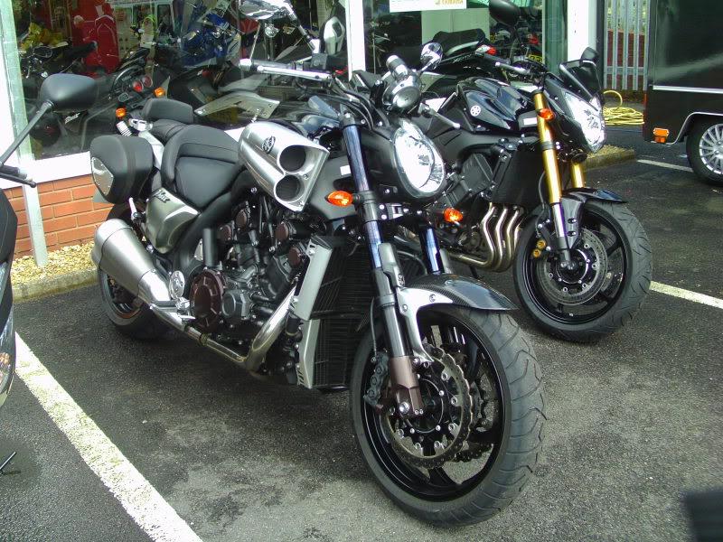 Yamaha day at the Motorcycle mart IMAG0211