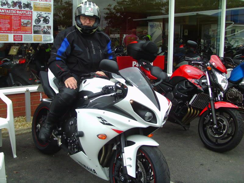 Yamaha day at the Motorcycle mart IMAG0215