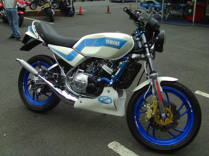 Yamaha day at the Motorcycle mart IMAG0217