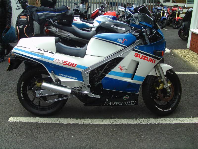 Yamaha day at the Motorcycle mart IMAG0224