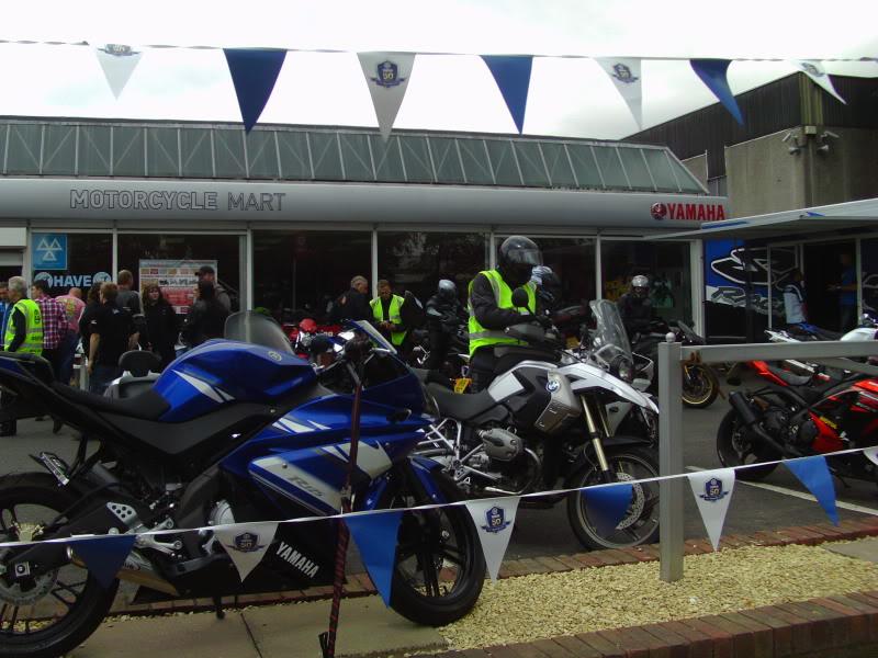 Yamaha day at the Motorcycle mart IMAG0233