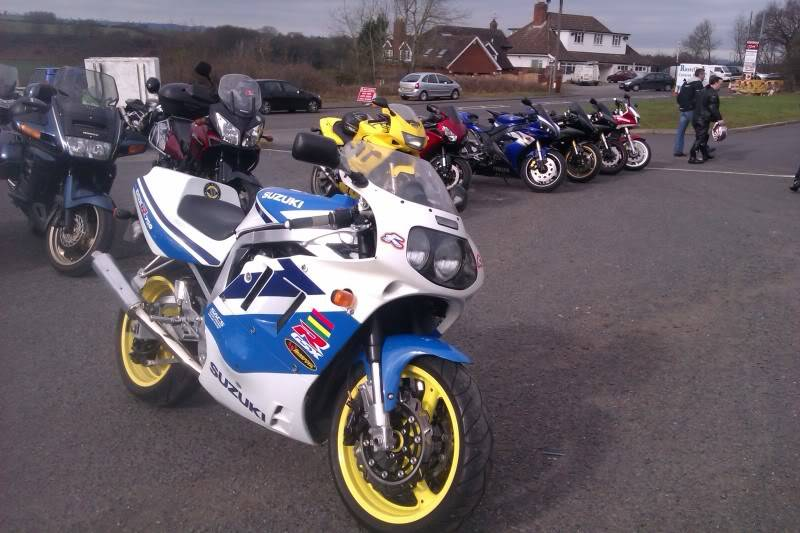Quatford Bikers Cafe near Bridgenorth IMAG0134