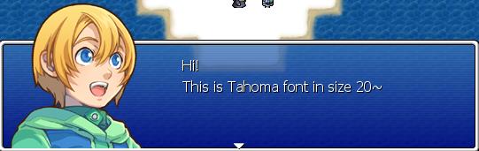 Modifier la police de son jeu / effet de texte Font1
