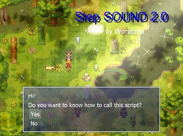 [สคริปต์] Sound STEP 2.0!! เติมแต่งเสียงเดินด้วยสคริปต์~! Soundstep-1