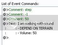 [สคริปต์] Sound STEP 2.0!! เติมแต่งเสียงเดินด้วยสคริปต์~! Stepment