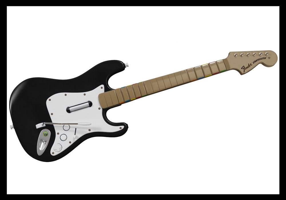 Diferentes Guitarras FenderRockBand