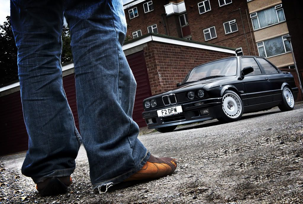 The latest with the E30 project. LEGSFINALhighcontrast