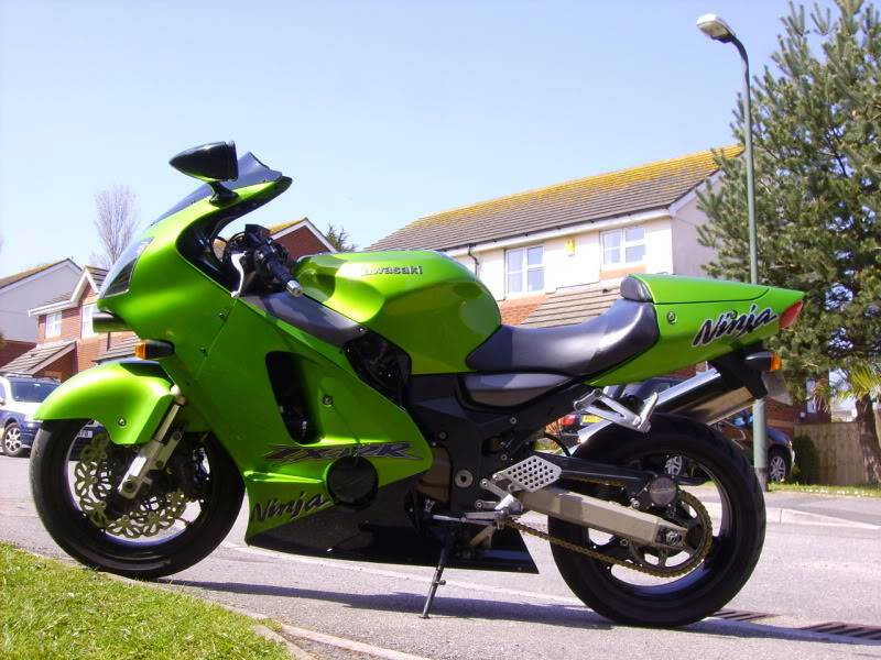 My new bike! NewbikeZX12R