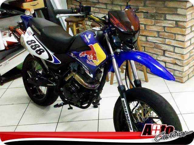 Igor Grillo - NXR 150 BROS NuAuto Customs Montada_provisoria_01