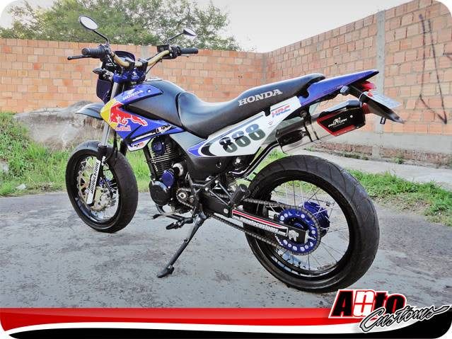 Igor Grillo - NXR 150 BROS NuAuto Customs Perfil_07