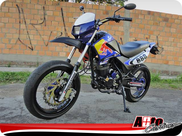 Igor Grillo - NXR 150 BROS NuAuto Customs Perfil_09