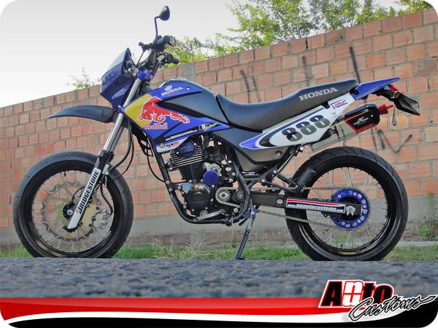 Igor Grillo - NXR 150 BROS NuAuto Customs Perfil_10
