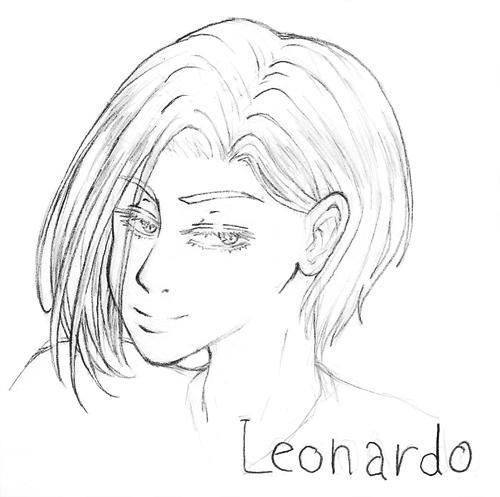 Desenhos da Bidinha Leo-Busto