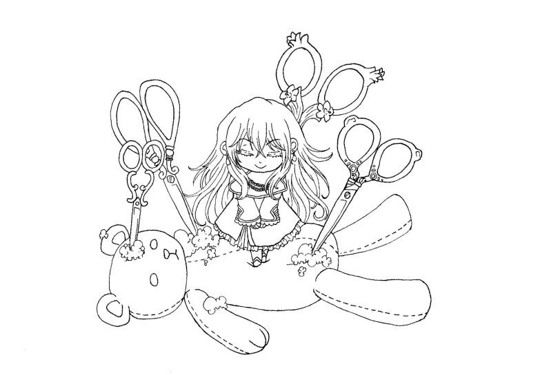 Desenhos da Bidinha Vince-lineart