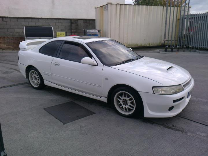 The site's first Ae101 Supercharged 8) Levin1