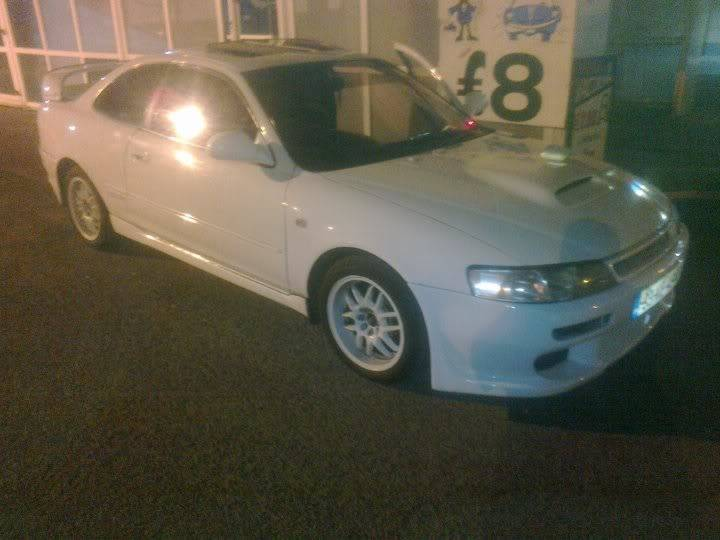 The site's first Ae101 Supercharged 8) Levin5