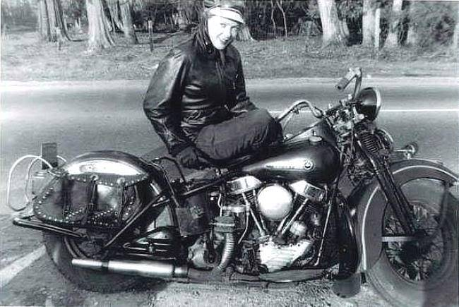 Old pics - Page 4 Panhead