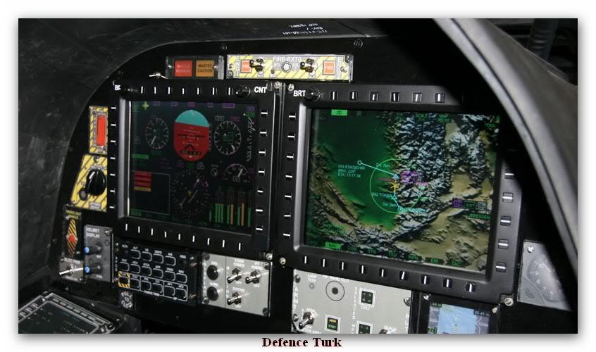 المروحية التركية t129 attak T129cockpit