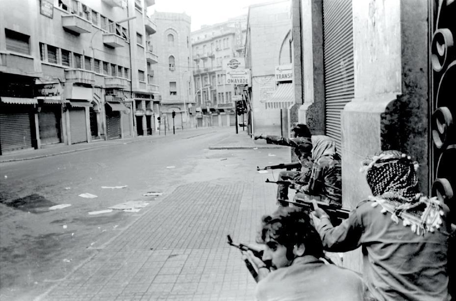 scènes de combat (armée libanaise, palestinien, chrétien...) Sowar3L