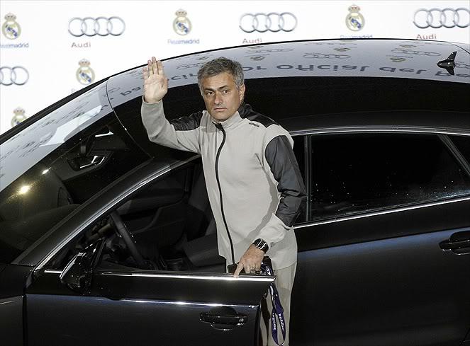 Dàn xe Audi mới cáu cạnh của Mourinho, Ronaldo, Kaka...  1-2