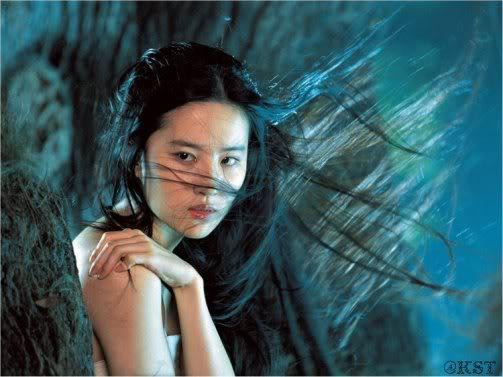 """Lưu Diệc Phi lộ ảnh """"hôn hít"""" với Cổ Thiên Lạc 110304Cineluudiecphi01"""