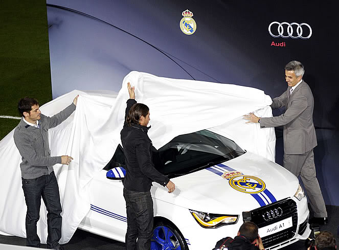 Dàn xe Audi mới cáu cạnh của Mourinho, Ronaldo, Kaka...  2-2