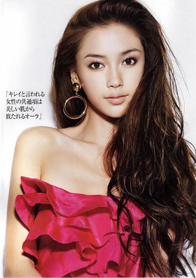 Angelababy quyến rũ trên tạp chí Nhật Bản 30a2-1