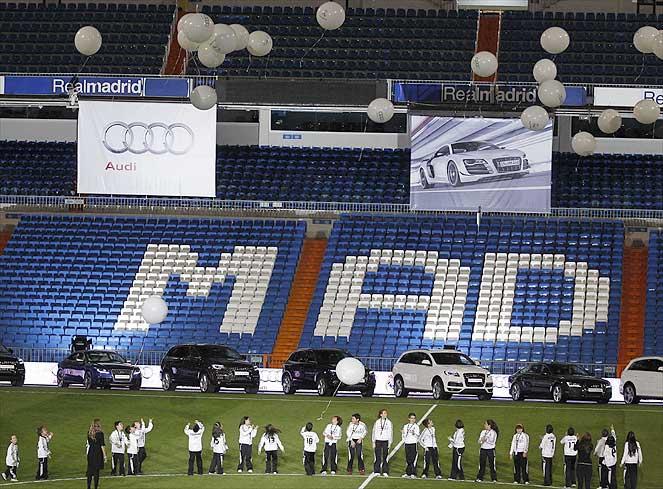 Dàn xe Audi mới cáu cạnh của Mourinho, Ronaldo, Kaka...  4
