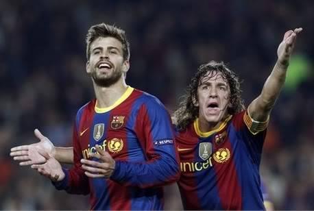Barca mất 'lá chắn thép' Pique - Puyol 94d7458f83019c