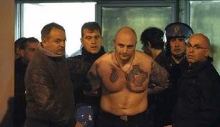Kẻ cầm đầu cuộc bạo loạn người Serbia đã bị bắt Bogdanov