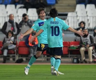 Thắng 8-0, Barca lập kỷ lục trên sân khách Messi-1