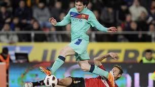 Đua với Barca, Real hụt hơi Messi-2