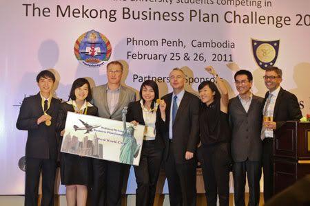 Sinh viên Ngoại thương giành giải nhất tại cuộc thi kinh doanh khu vực SinhvienVietNam1