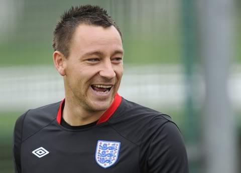Tin tức bóng đá: Terry rời ĐT Anh, trở lại Chelsea  Terry