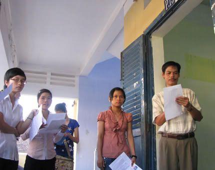 Đà Nẵng: Nhiều trường mở rộng khối thi năm 2011 ThisinhDN1103
