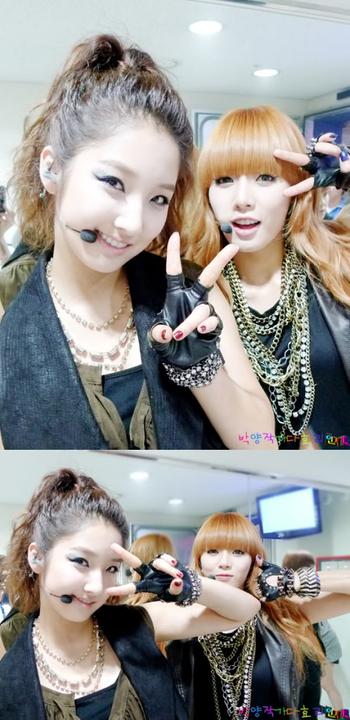 [OTHER][26.06.10] SBS Inkigayo Backstage 2