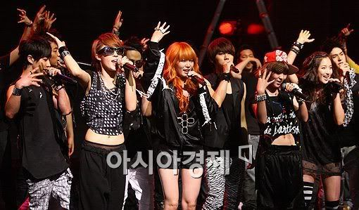 [PERF][20.05.10] 4Min @ CB stage Mnet MCountdown : Who's next + HuH 201005201946252655837a1