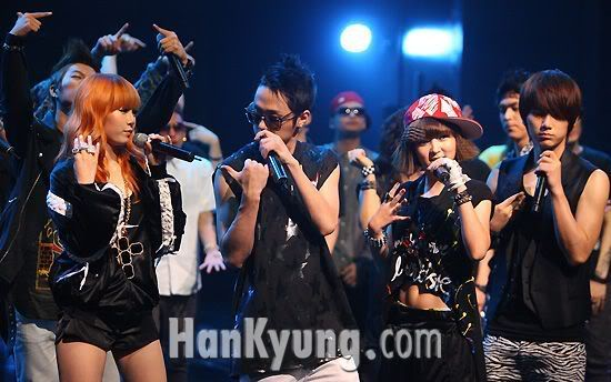 [PERF][20.05.10] 4Min @ CB stage Mnet MCountdown : Who's next + HuH 20100520391472010052095