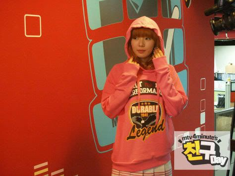 [OTHER][20.06.10] Recording for MTV 4minute's friend day part 2 4min_2_2