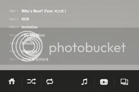 [CAPS] 4Minute HUH iPhone app IMG_0752