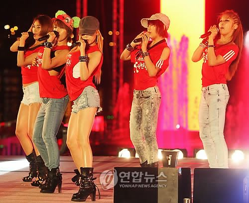 [PERF][22.06.10] Concert to cheer on Korea against Nigeria at 2010 World Cup PYH2010062300330099000_P2
