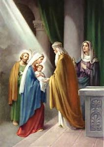MÉDITATIONS CHRÉTIENNES POUR TOUTE L`ANNÉE - Pere Buse`e - Cie de Jésus - année 1708 BabyJesus-Simeon-Hanna