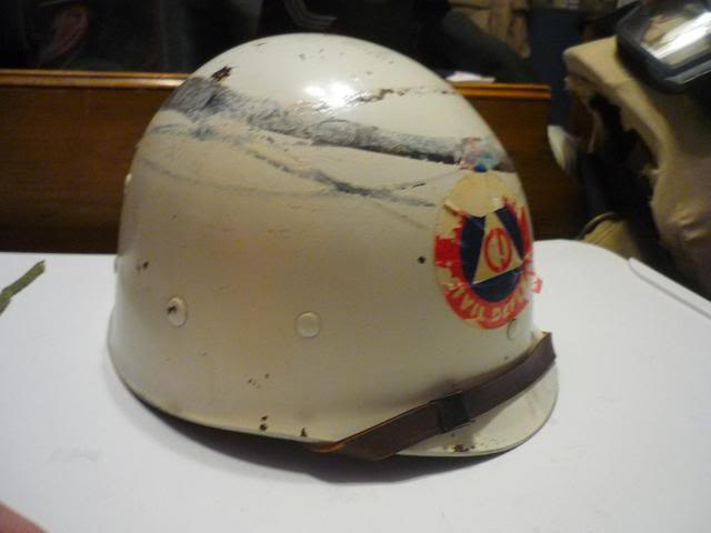 Civil Defense M-1 Helmet Liner P1060746