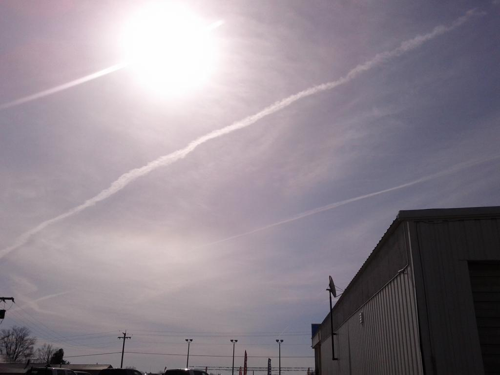 Chemtrail or Not... POST your own chemtrail pictures! Chemtrail